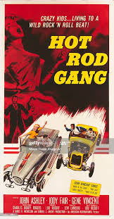 A poster for Lew Landers' 1958 drama 'Hot Rod Gang'. News Photo ...