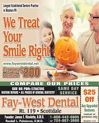 SUNDAY, OCTOBER 27, 2019 Ad - Fay-West Dental - The Dominion Post