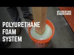 This Self Expanding Foam Lets You Set Up Fence Posts In No Time Youtube