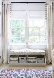In The Big Kid Room With Sunny Circle Studio Project Nursery Kids Room Curtains Window Seat Storage Nursery Window Seat