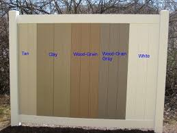 Available Colors A Vinyl Fence And Vinyl Deck Wholesaler Vinyl Fence Colors Vinyl Fence Vinyl Privacy Fence