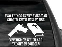 Fgd Pro Gun 2nd Amendment 1911 White Window Decal 12 W X 8 H Ebay