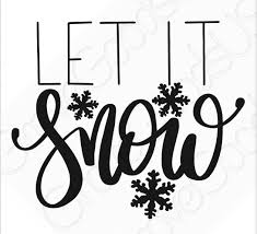 Excited To Share This Item From My Etsy Shop Let It Snow Vinyl Decal Snowflake Car Decal Window Decal Yeti Tumbler Cu Etsy Window Decals Hoop Art