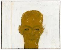 MCA – Collection: Lester Johnson, Self-Portrait in Ochre, 1960