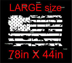 Large Size Vinyl Sticker Decal American Flag Fitl For Roof Etsy