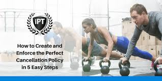 24 hour gym cancellation policy لم يسبق