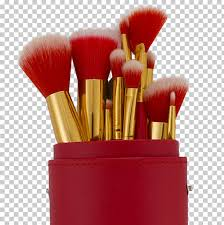 makeup brush painting cosmetics alcone