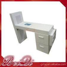 modern manicure table vacuum and nail