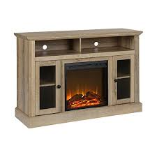 fireplace tv stand for tvs up to