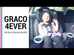 how to install graco 4ever car seat