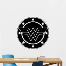 Wonder Woman Wall Decal Emblem Logo Superhero Poster Vinyl Sticker Decor 67thn Ebay