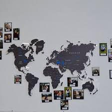 Cork Push Pin World Map Wall Art Map Cork Board Rustic Wall Etsy In 2020 World Map Wall Decor Push Pin World Map Cork World Map