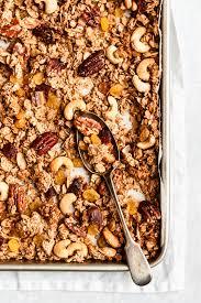 healthy granola recipe vegan gluten