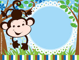 Te Invito A Mi Cumple Baby Showers De Safari Invitaciones