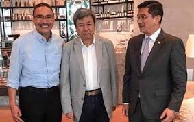 Image result for images of Azmin and Hishamuddin""