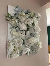 3d flower canvas wall art 16x20