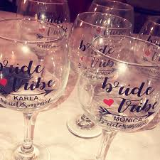 Personalized Heart Arrow Bridal Party Wine Glass Decals Custom Bridesmaid Tumbler Vinyl Sticker Cups Decal Wedding Decoration Wall Stickers Aliexpress