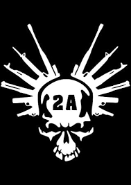 Amazon Com Decaldestination 2nd Amendment Skull Statue Of Liberty Crown Guns Decal Vinyl Decal Car Sticker Creative Fashion Car Accessories Vinyl Car Decal Approximately 8 X 5 White Automotive