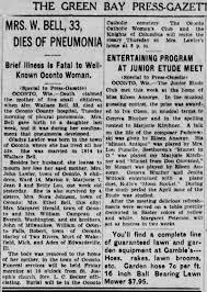 Herald, Gladys Obituary April 3 1930 - Newspapers.com