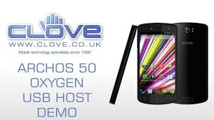 Archos 50 Oxygen USB Hosting/OTG Demo ...
