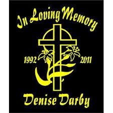 Oracal In Loving Memory Of Decal Cross Easter Lily Name Date Custom Car Vinyl Sticker