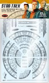 Star Trek Discovery U S S Enterprise Aztec Decal Set 1 1000 Scale