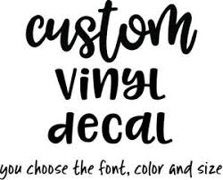 custom vinyl decals quotes sayings weddings birthdays