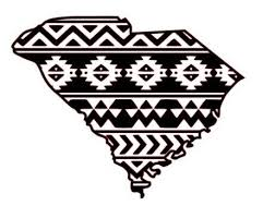 Sc Aztec Tribal South Carolina Decal Aztec Car Window Decal Tribal Car Decal Silhouette Projects Etsy Aztec Car