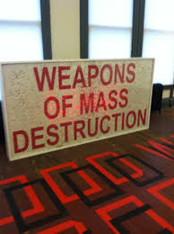 Image result for weapons of mass destruction word