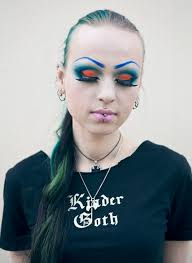 how to do cyber goth makeup saubhaya