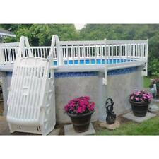 Vinyl Works 36 Resin Above Ground Pool Fence Kit A36p8 For Sale Online Ebay