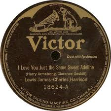 Lewis James - Charles Harrison / Sterling Trio - I Love You Just ...