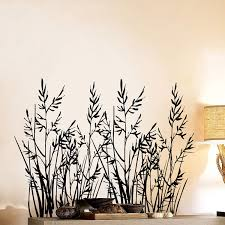Wild Grass Set Of Two Wall Decal Sticker Graphic