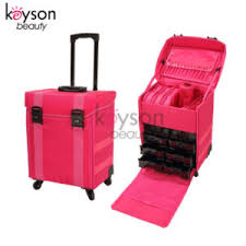 rolling soft makeup train bag case