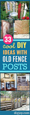 34 Cool Ways To Use Fence Posts