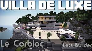 minecraft villa de luxe you
