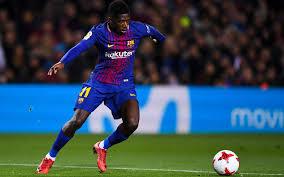 تحميل خلفيات ديمبيلي برشلونة 2018 مروحة الفن لاعبي كرة القدم