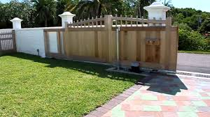 Wooden Sliding Gate Youtube