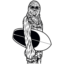 Wall Decal Chewbacca California Muraldecal Com