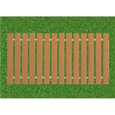 Roll Up Garden Boardwalk Walk Way Made In Evergrain Composite Deck Board 4 Colors Available