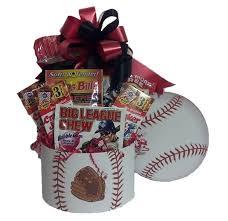 baseball fan sports gift basket m r