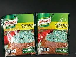 knorr vegetable recipe soup or dip mix