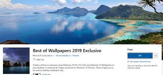 wallpapers 2019 exclusive theme