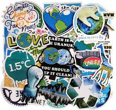 Amazon Com 50pcs Environmental Protection Slogan Sticker Pack For Water Bottle Laptop Luggage Skateboard Focus On Global Warming Climate Change Marine Life Water Conservation And Save The Plants Arts Crafts Sewing