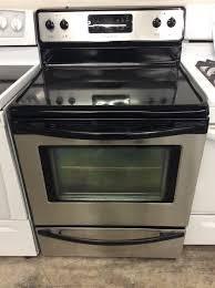 frigidaire stainless steel four burner