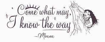 Vinyl Adhesive Moana Wall Art Decal Diy Stick And Peel Walt Disney Moana Movie Lettering Quotes Home Decor Removable Kids Bedroom Sticker Decoration 8 X 20 Come What May I