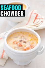 Nova Scotia Seafood Chowder in 20 ...