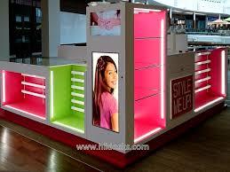 mall makeup display stand makeup
