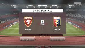 LIVE | Torino vs Genoa | FIFA 20 Coppa Nazionale calcio ...