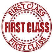 First Class Clipart